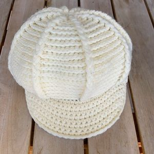 Goorin Brothers Cream Knitted Hat